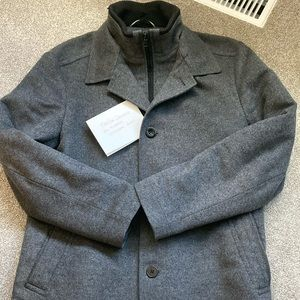 Hugo Boss wool and cashmere winter coat